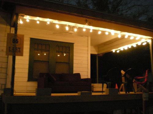 Christmas Lights Inside House